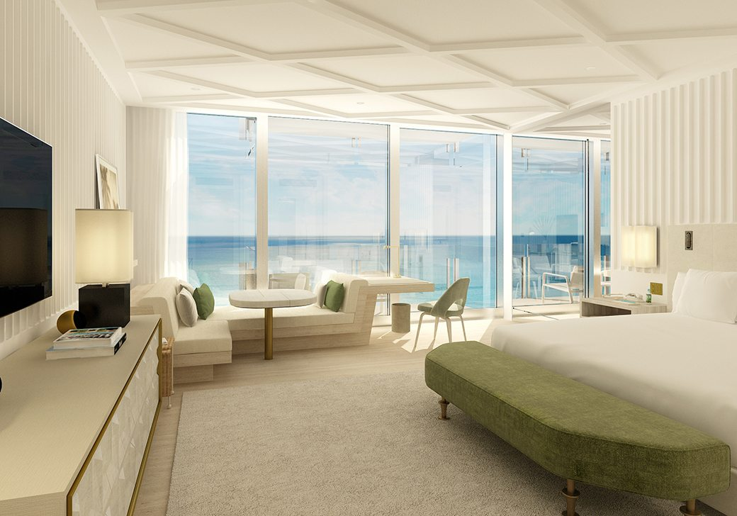 Surf Club Four Seasons Hotel Room toward Ocean