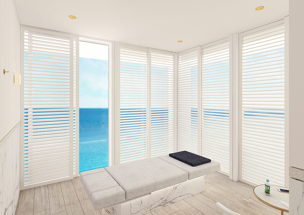 Surf Club Four Seasons Spa Treatment Room