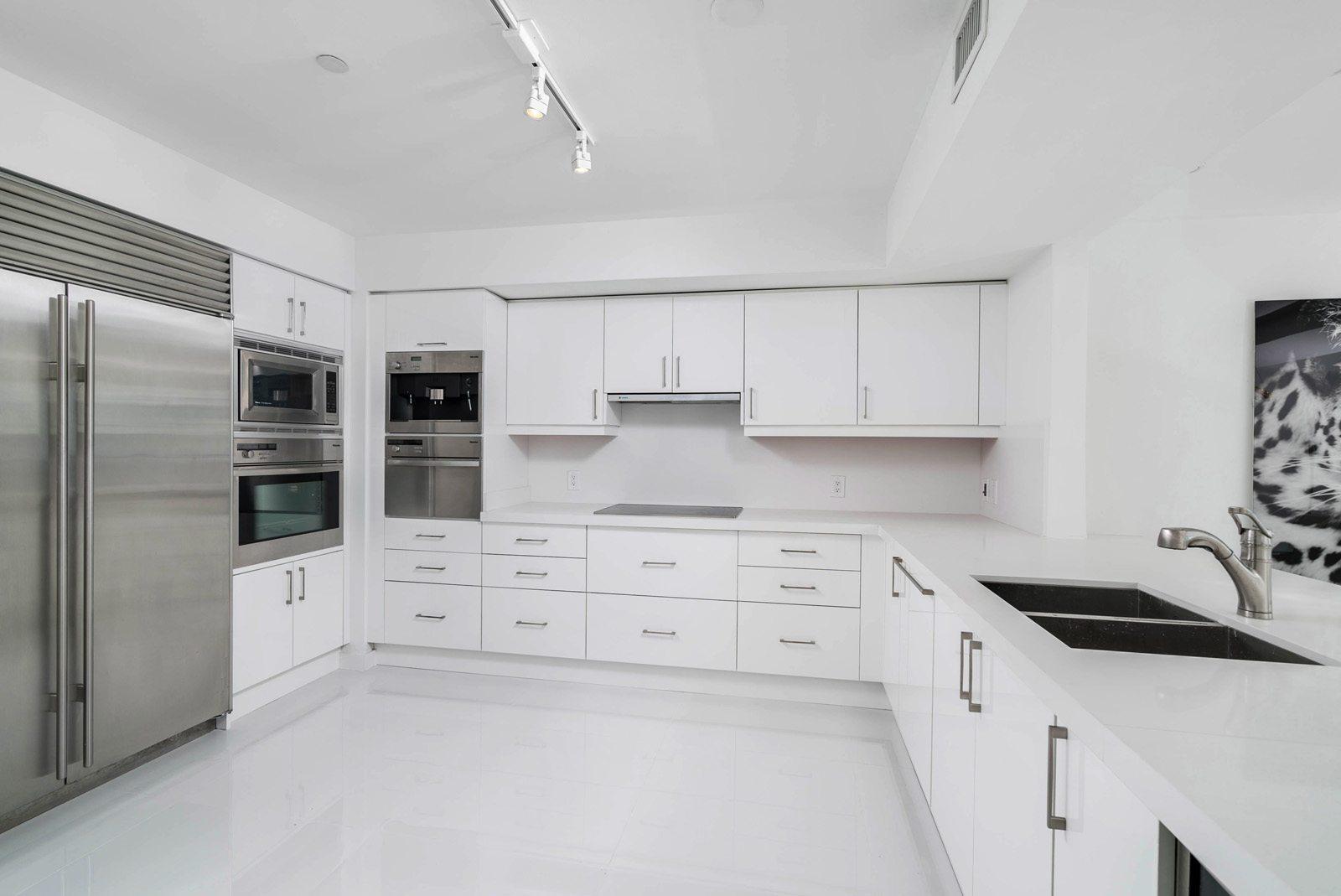 Jade at Brickell Bay renovated kitchen