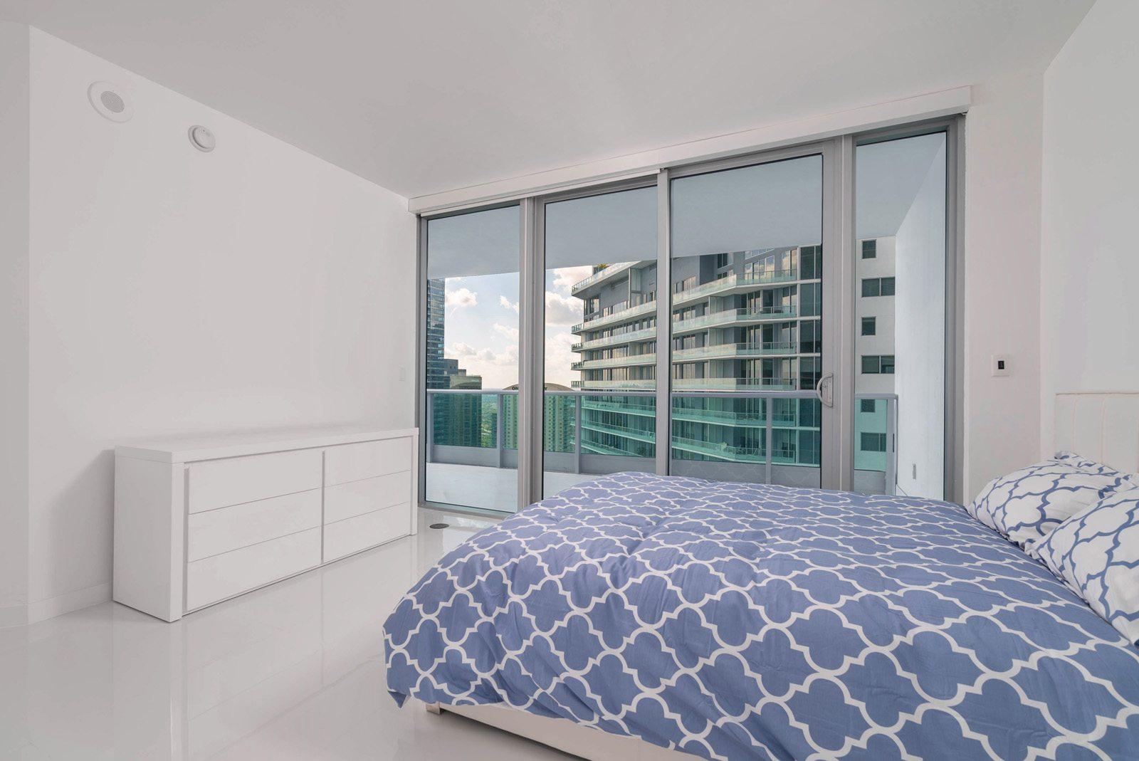 Jade at Brickell Bay second bedroom