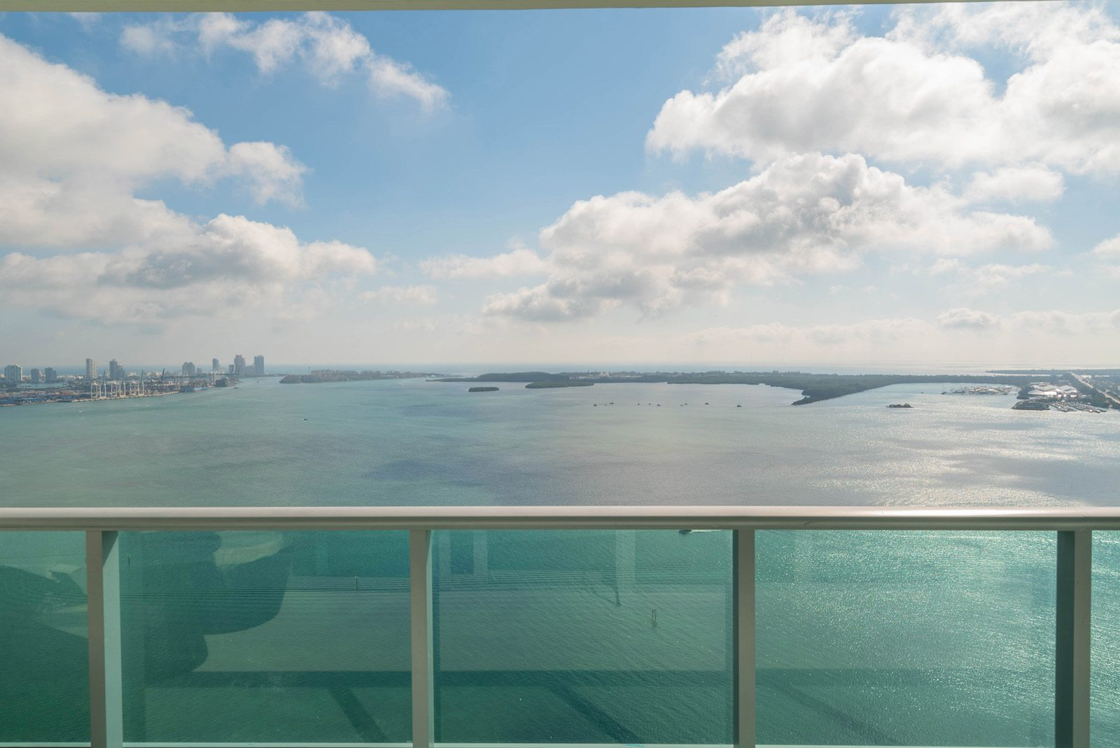 View from unit 4107 at Jade Brickell