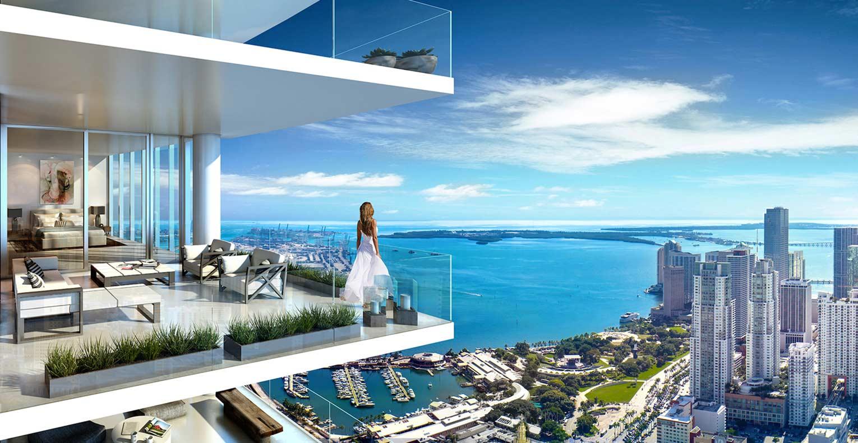 Paramount Miami Worldcenter condo for sale