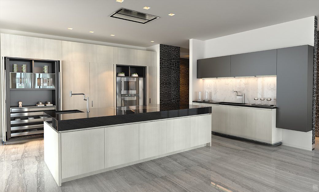 One Thousand Museum Kitchen.New