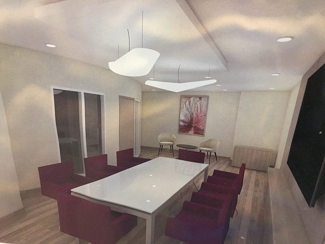 Two Tequesta Point Miami Condos Conference Room