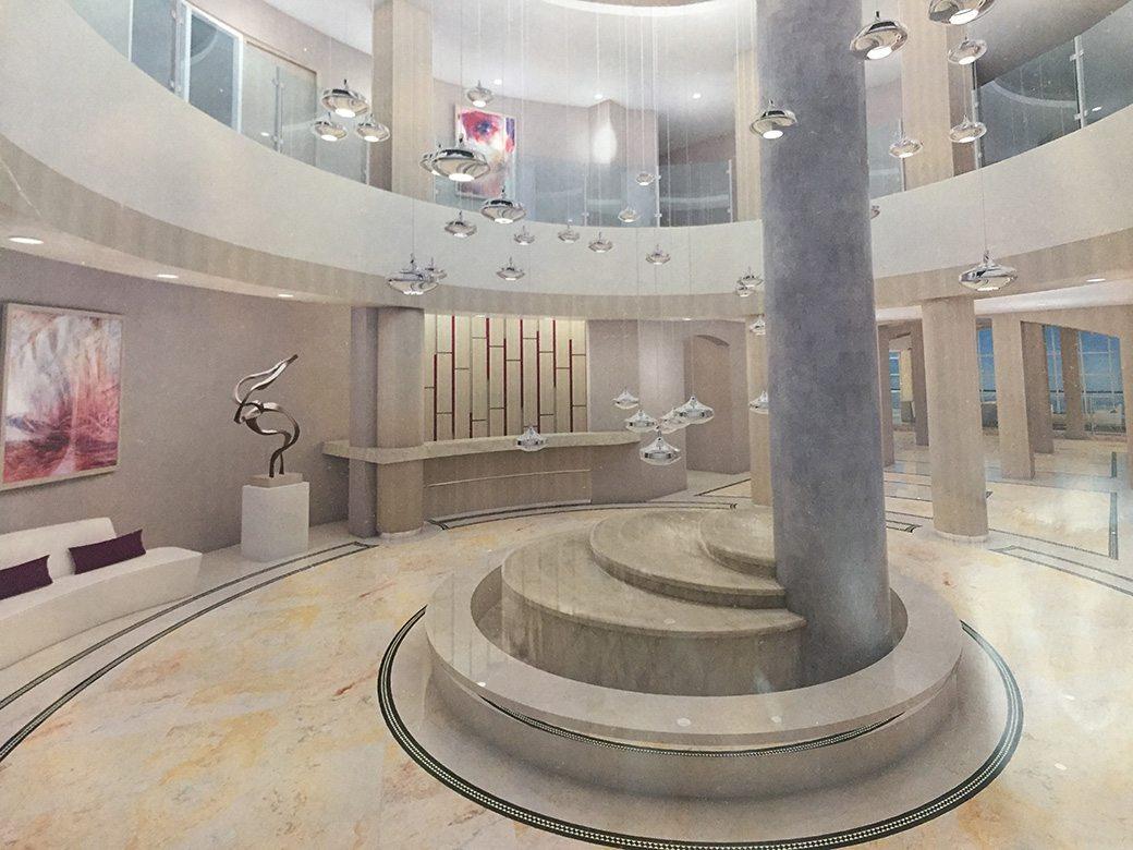 Two Tequesta Point Miami Condos Lobby 03