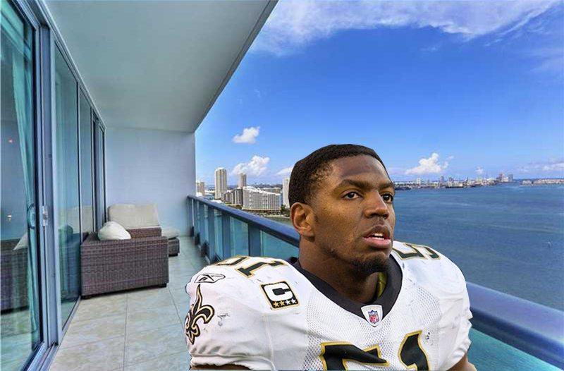 Jonathan Vilma sells Miami condo for $1.1M