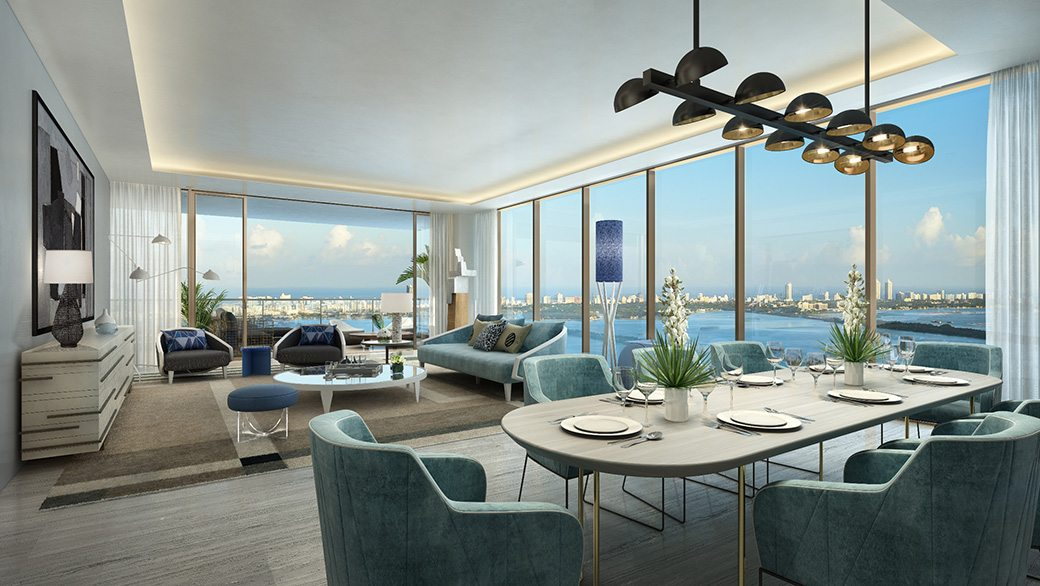 4. Elysee - Unit Living Room