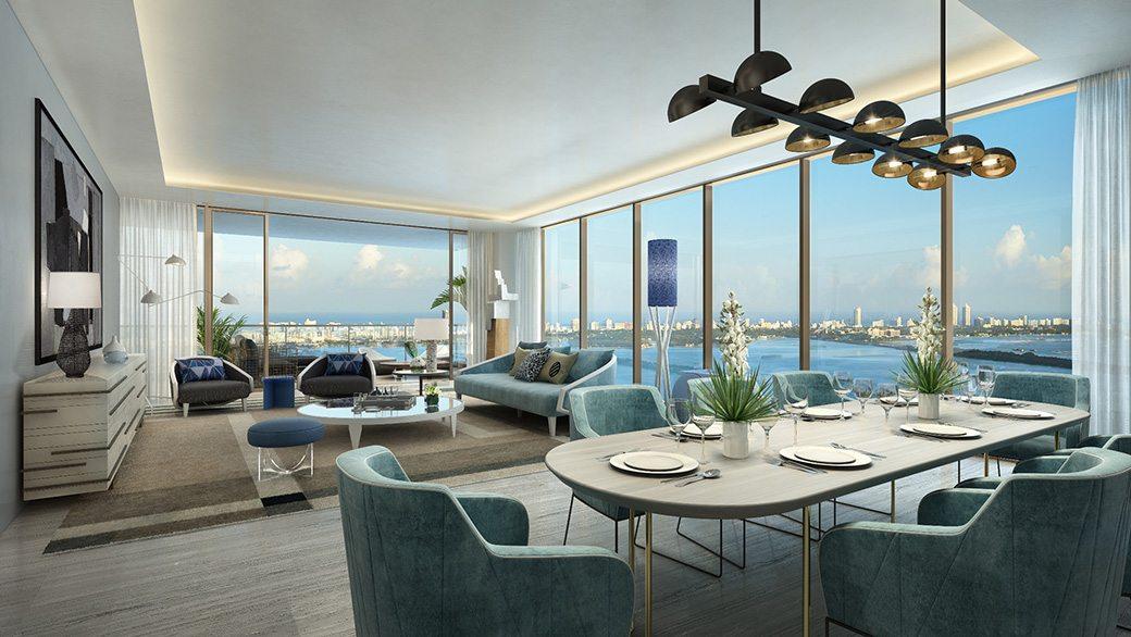 4. Elysee - Unit Living Room