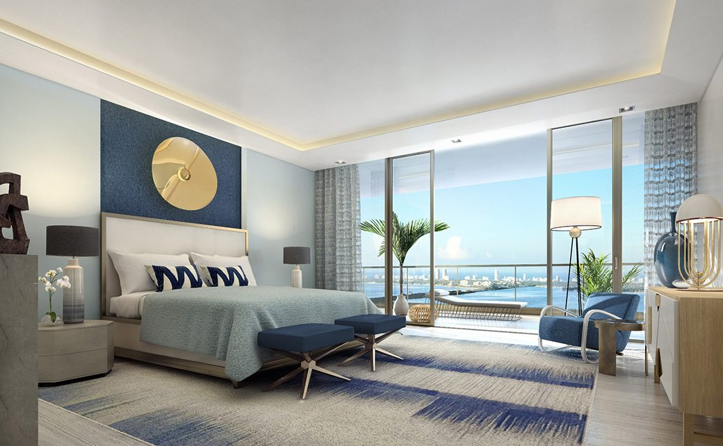 5. Elysee - Unit Master Bedroom