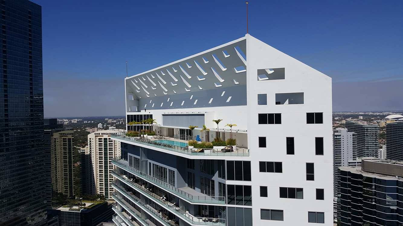 A solution is found for the brickellhouse parking saga for Brickell house
