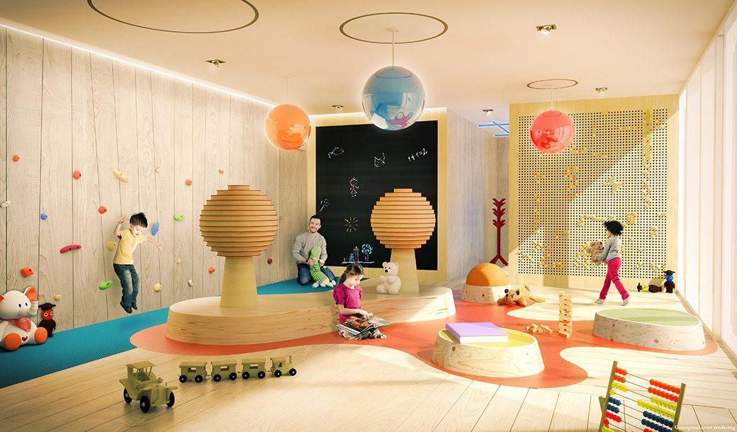 Brickell Flatiron 25 Children's Playroom