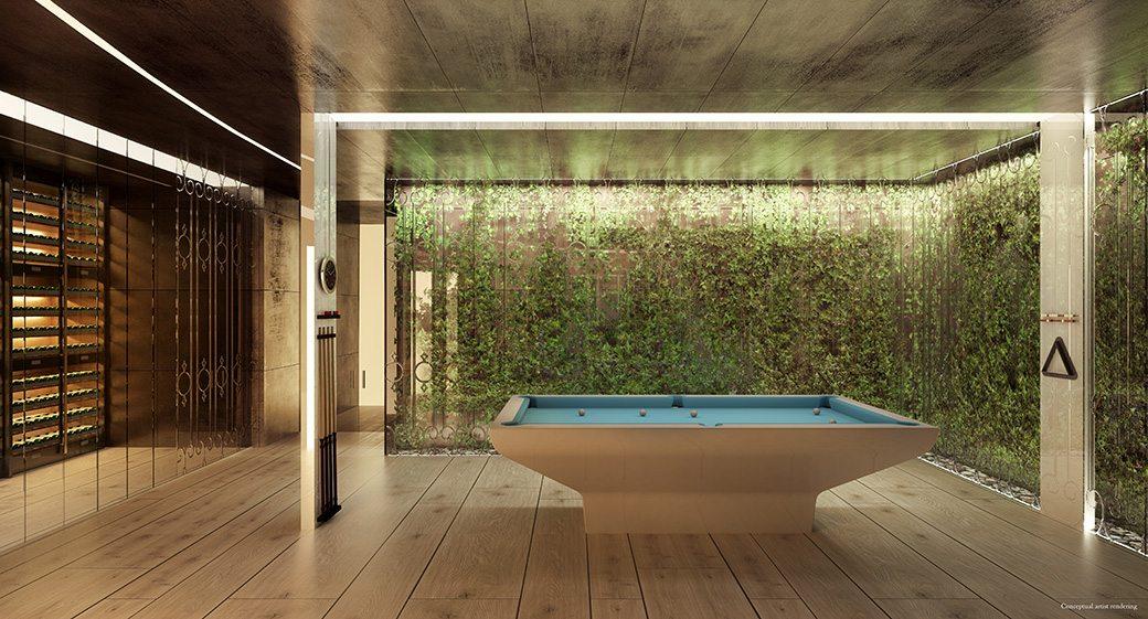 Brickell Flatiron 29 Billiards Room