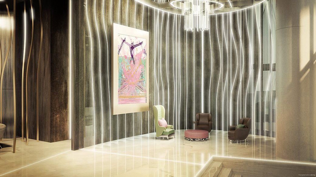 Brickell Flatiron 5 Lobby