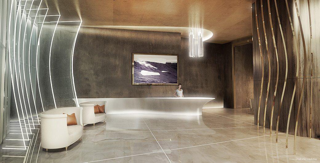 Brickell Flatiron 7 Reception