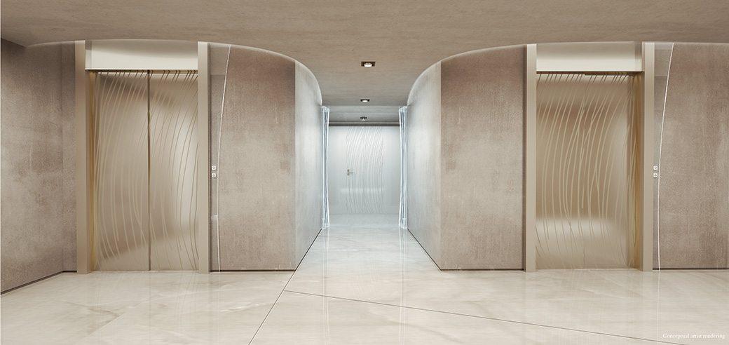 Brickell Flatiron 9 Elevator lobby