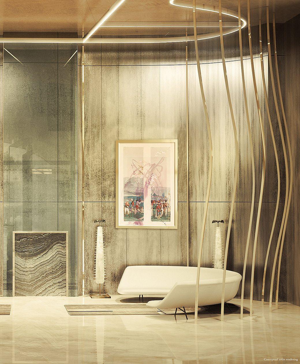 Brickell Flatiron Lobby 01