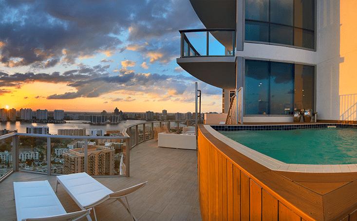Chateau Beach Sky Villa 3 Terrace