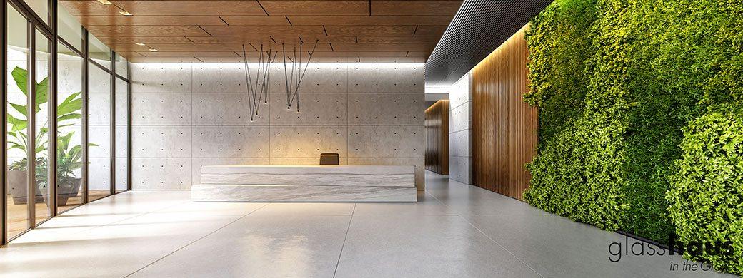 Glasshaus Lobby