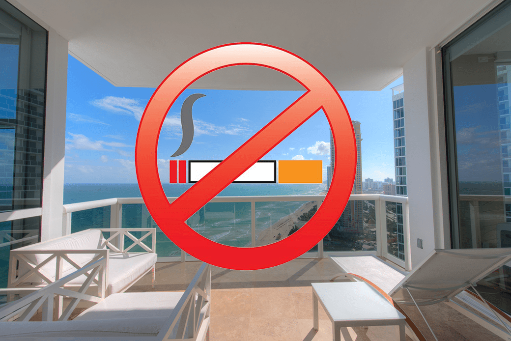 No Smoking in Condos