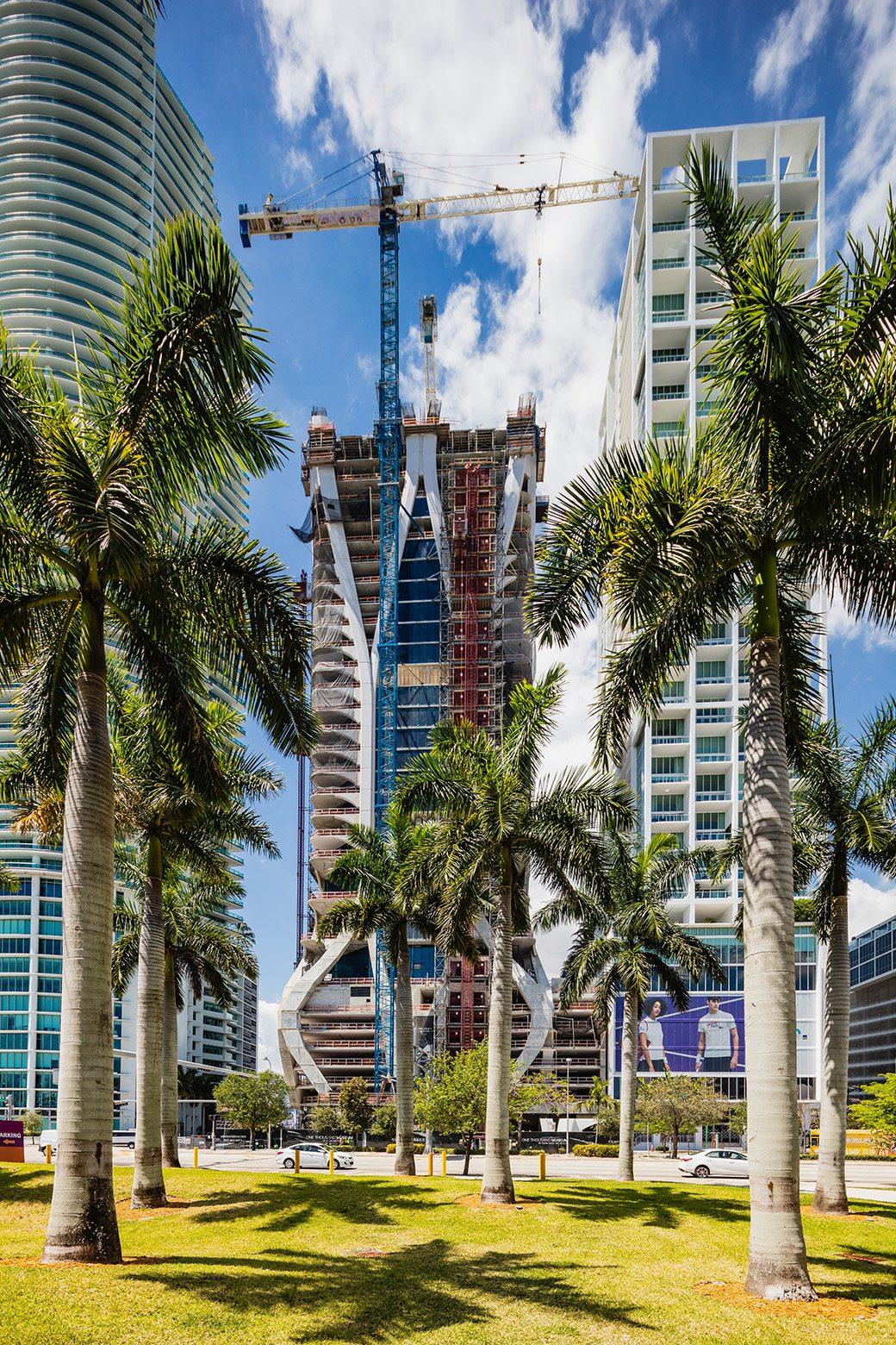 One Thousand Museum Miami Condos April 2017 02