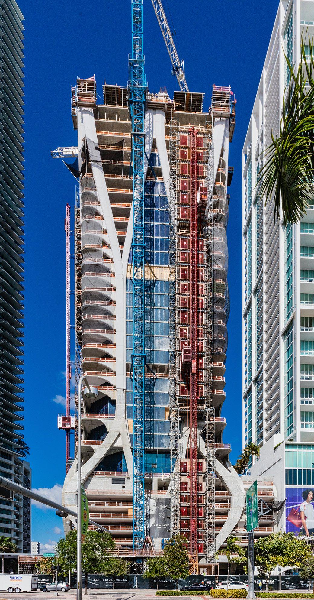 One Thousand Museum Miami Condos April 2017 08