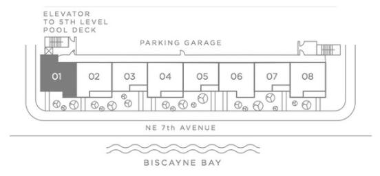 Paraiso Bay Homes Key Plan