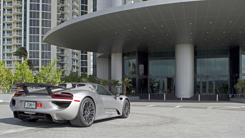 Porsche Design Tower Entry