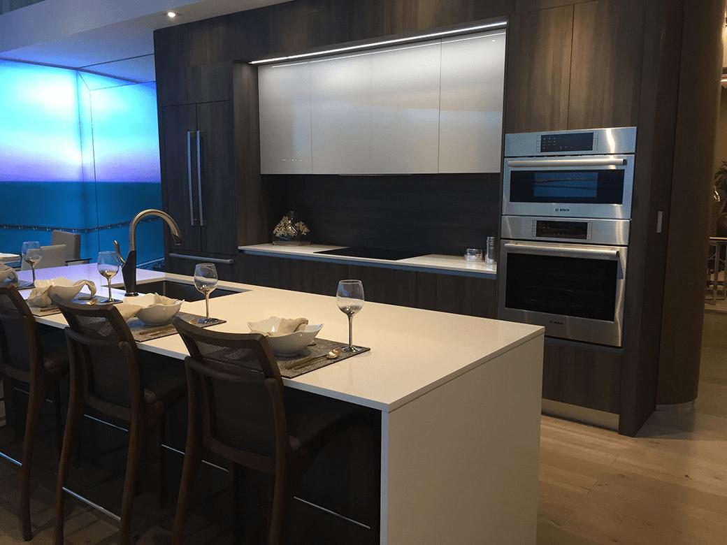 Aria on the Bay Kitchen