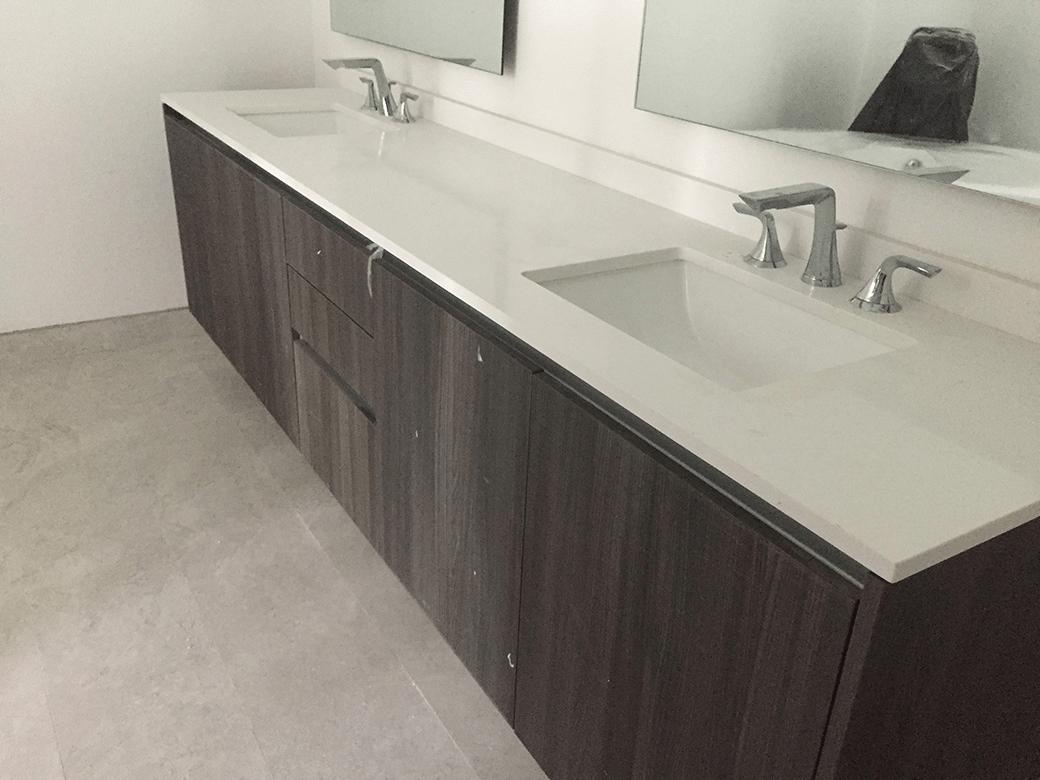 Aria on the Bay Master Bath Vanity