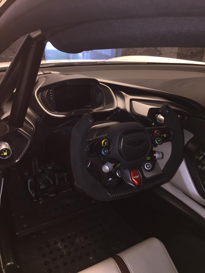 Aston Martin Vulcan Steering Wheel