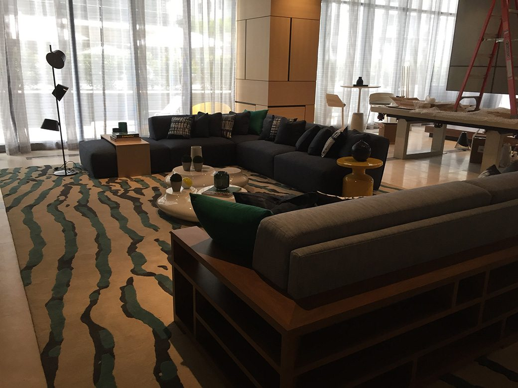 Brickell Heights Amenities East Party Room