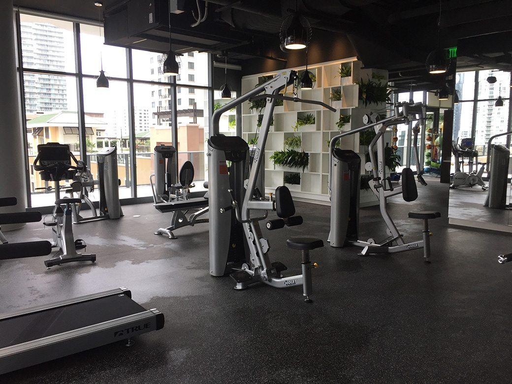 Brickell Heights Amenities Gym
