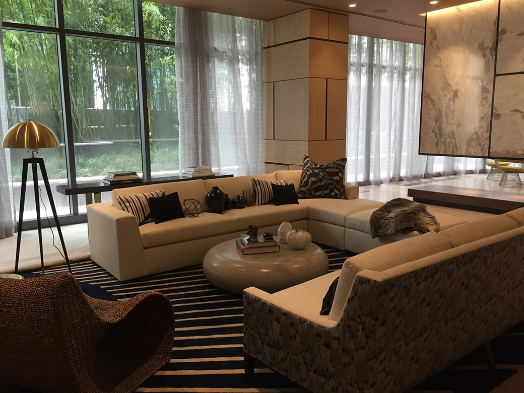 Brickell Heights Amenities Party Room West
