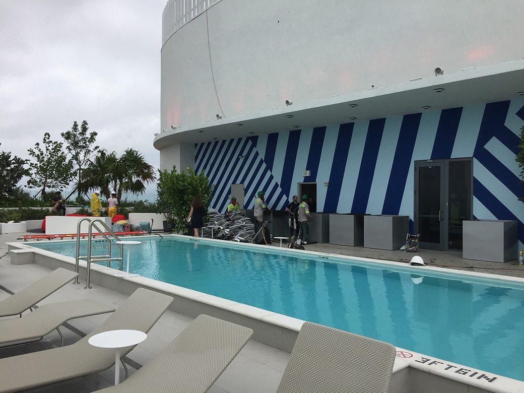 Brickell Heights East Rooftop Pool