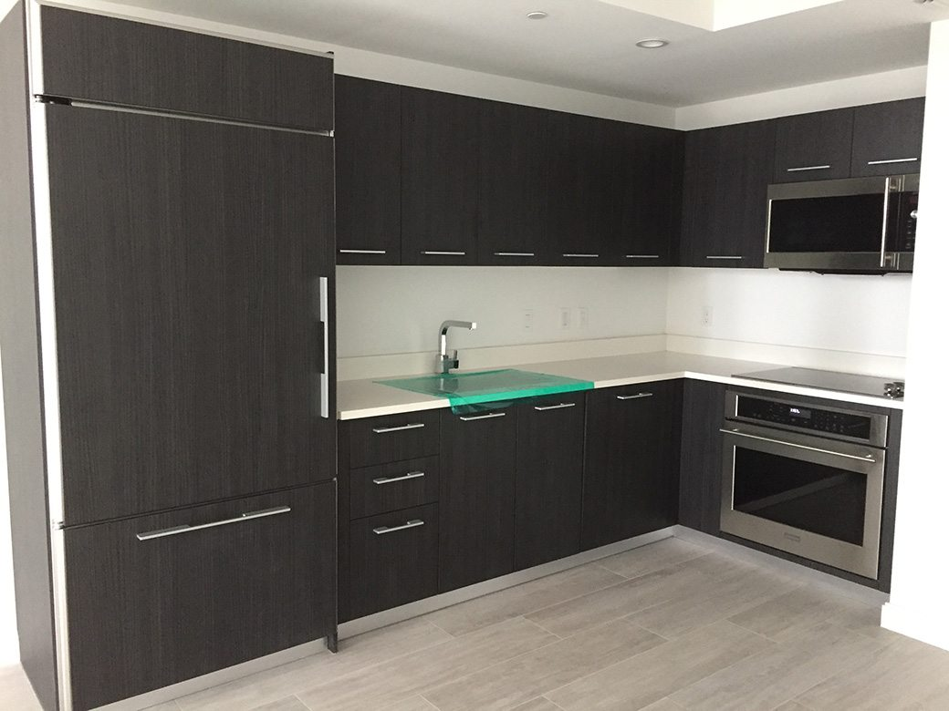 Kitchen in 1 Bedroom Unit