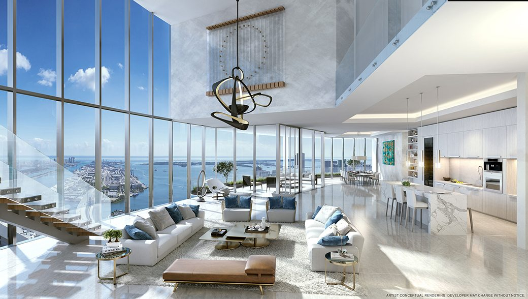 Paramount Miami Worldcenter Duplex Penthouse