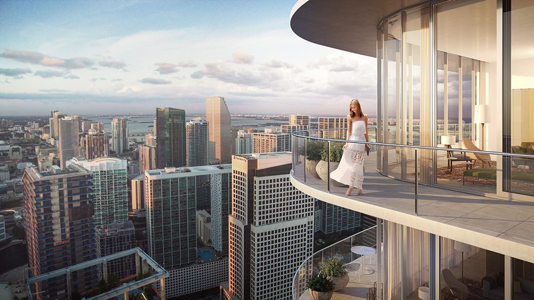 SLS Lux Penthouse Balcony