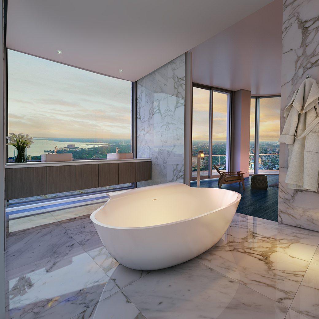 SLS Lux Penthouse Bathroom