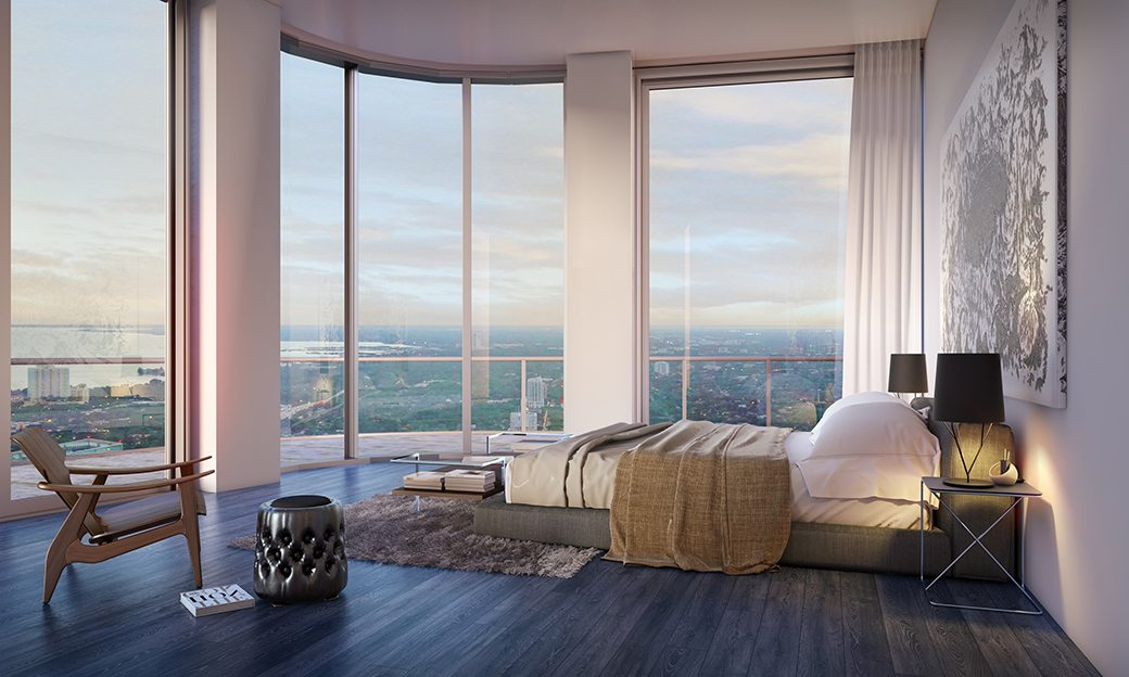 SLS Lux Penthouse Bedroom I