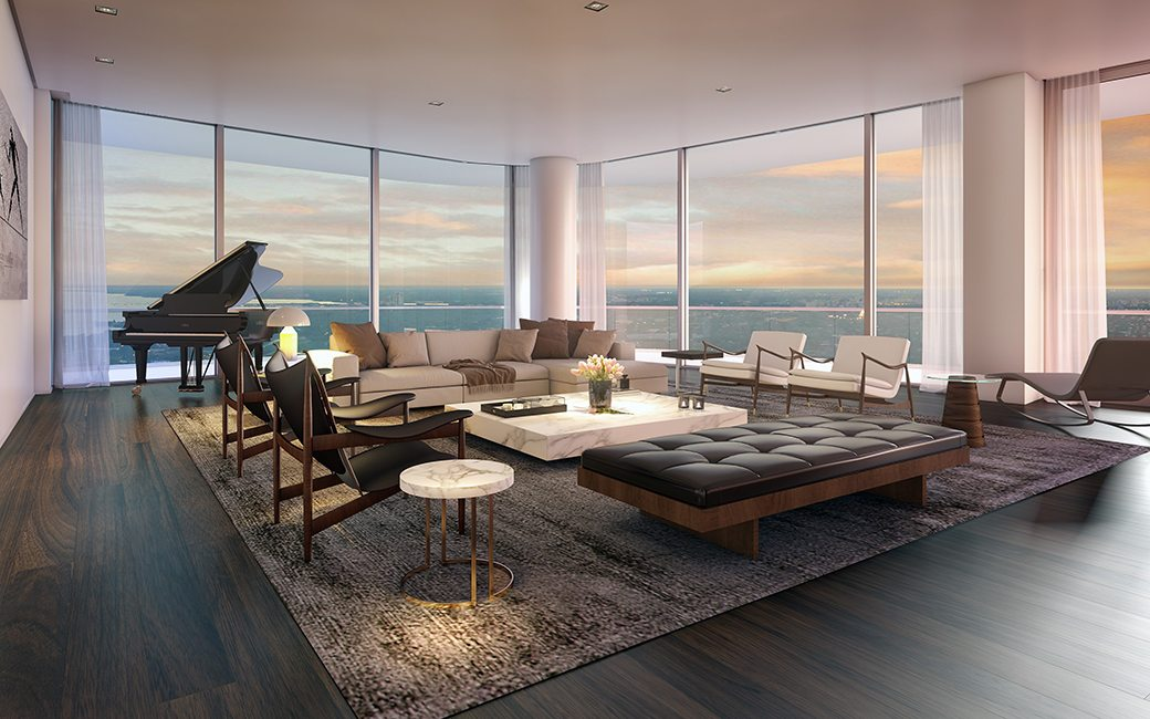 SLS Lux Penthouse Living Room I