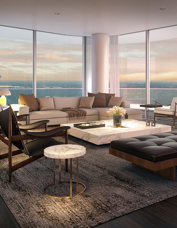 SLS Lux Penthouse Living Room II