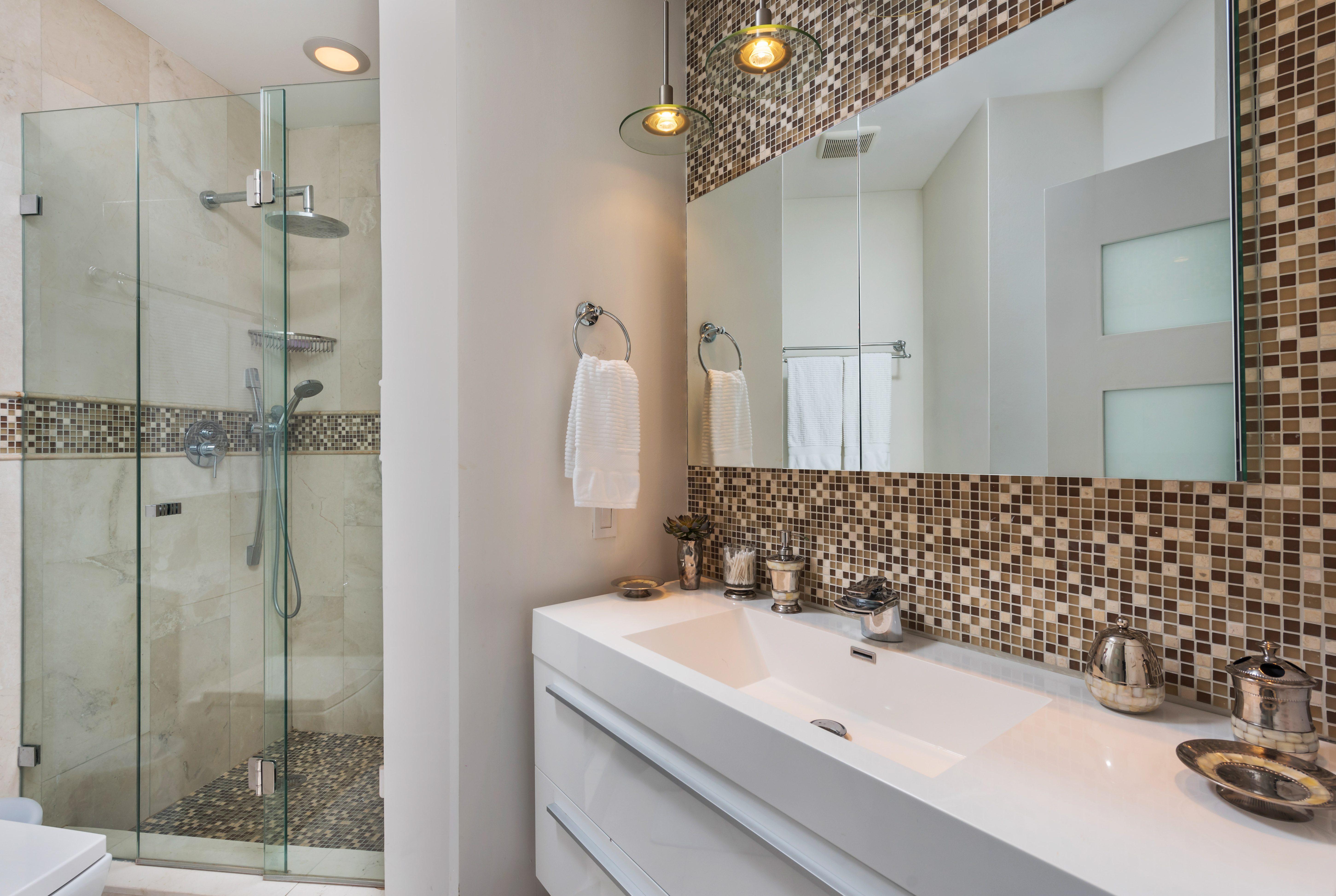 renovated second bathroom