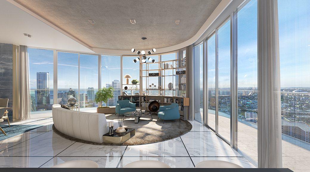 Brickell Flatiron rendering