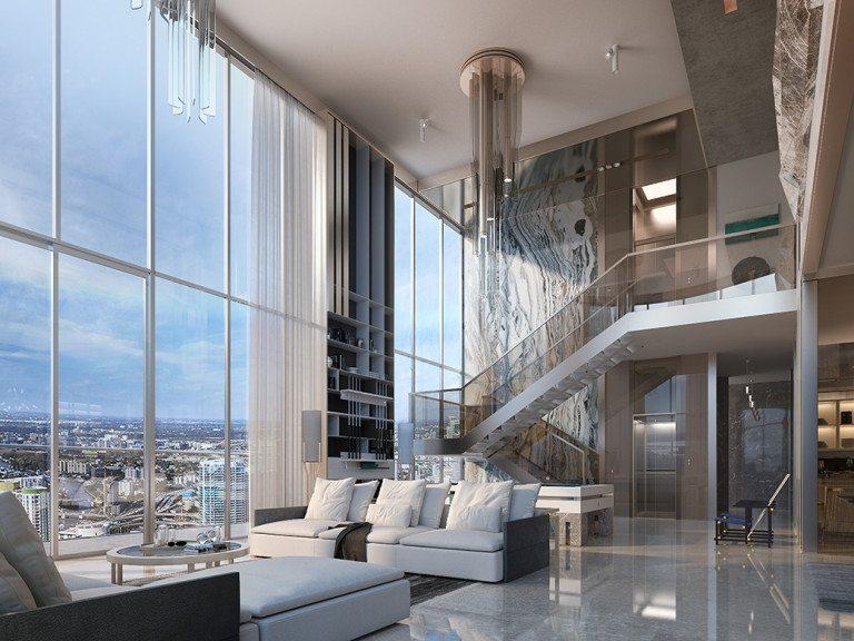 Brickell Flatiron Unveils Penthouse Collection Priced $1M-$15.5M