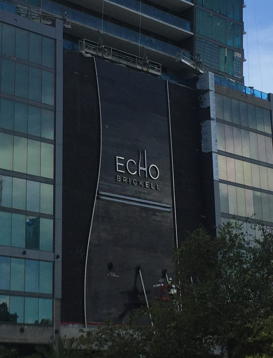 ECHO Brickell Sign