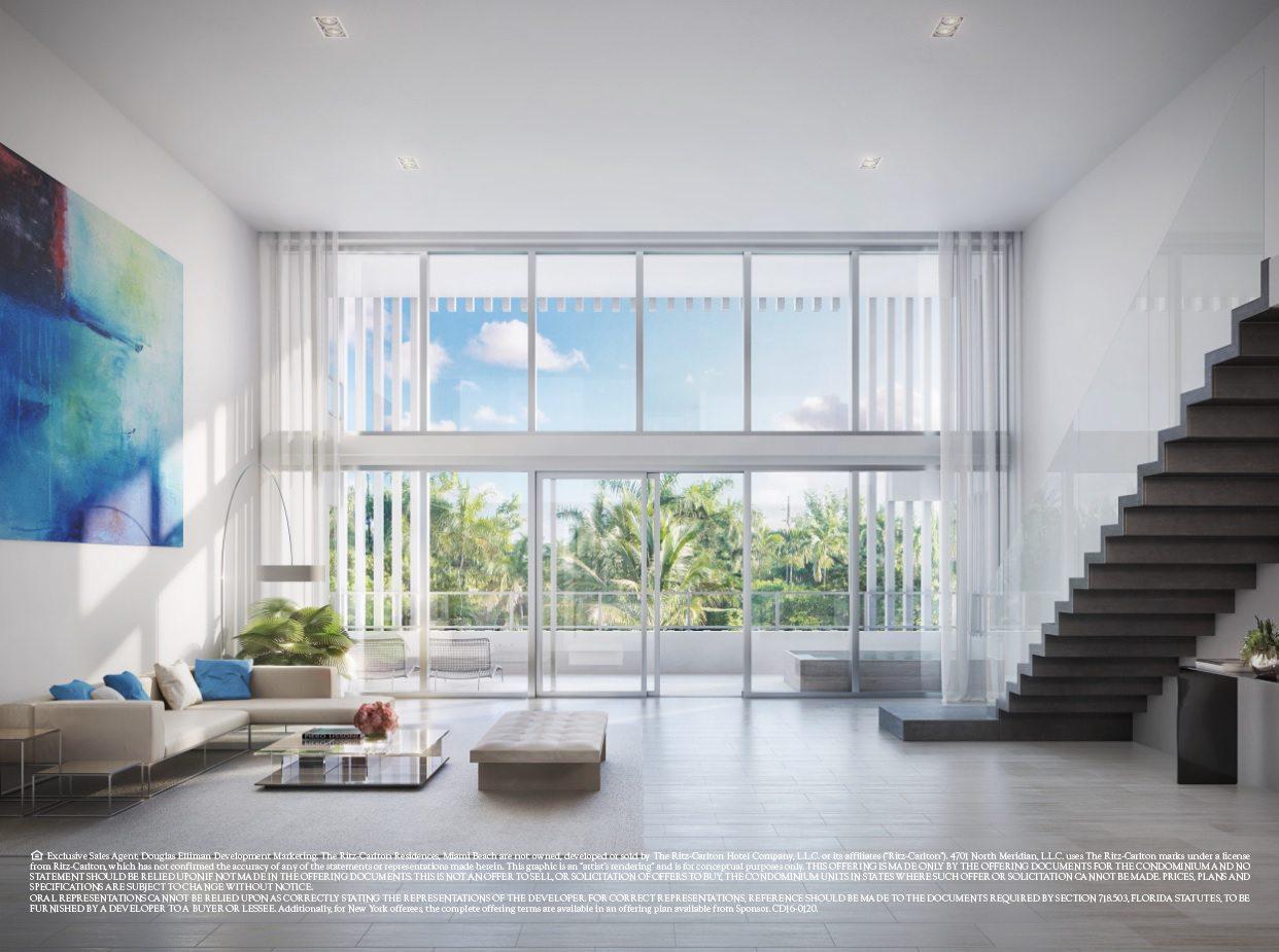 loft condo at Ritz-Carlton Miami Beach