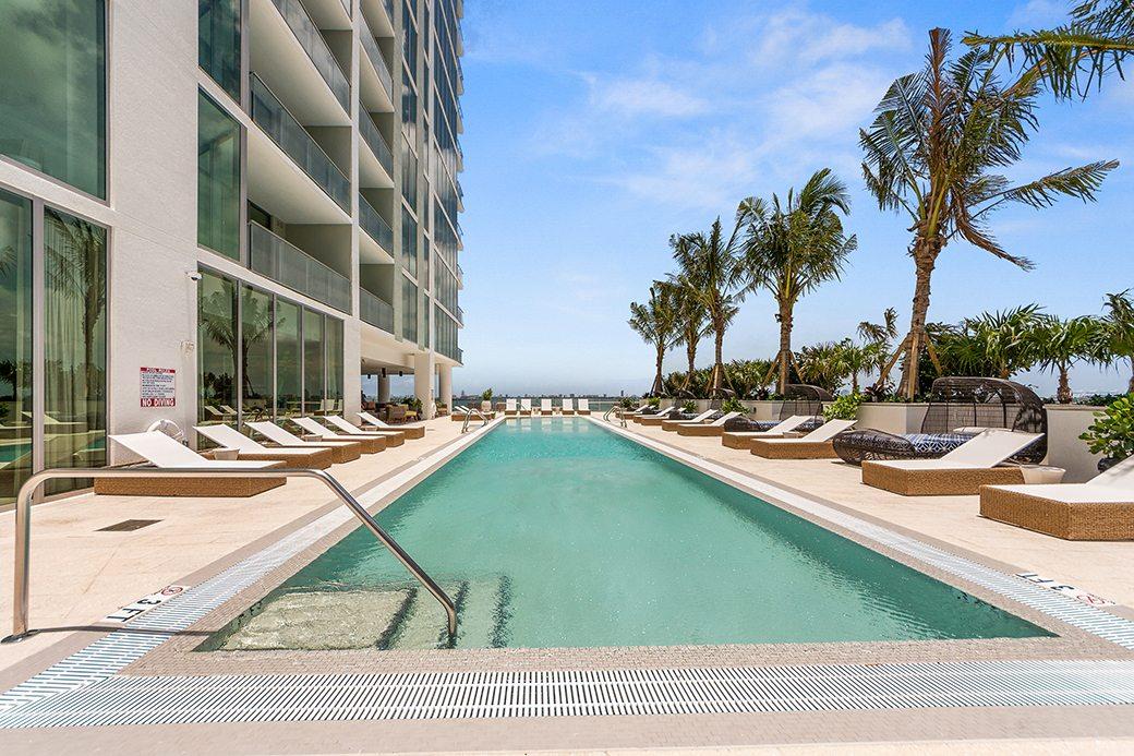 Biscayne Beach 6th floor pool view 2