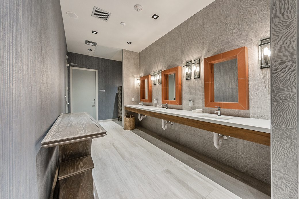 Biscayne Beach Gym Bathroom