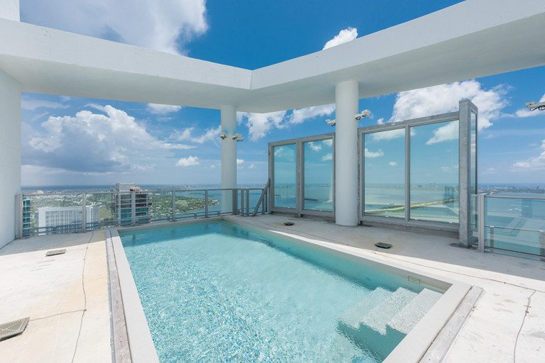 """Biscayne Beach's Ultimate """"Sandcastle In The Sky"""" Asks $9.5 Million"""