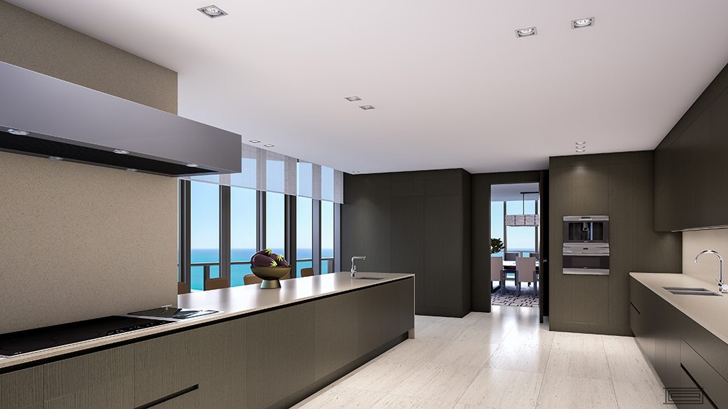 Regalia Penthouse Kitchen